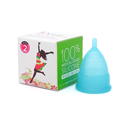 Anigan EvaCup, Top-Quality, Reusable Menstrual Cup, Eco-Friendly Alternative to Tampons, Blizzard...