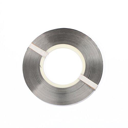 ra de níquel puro de 0.15 x 8 mm para paquetes de baterías 18650 Soldadura de baterías 1 kg/rollo, 93.6 m