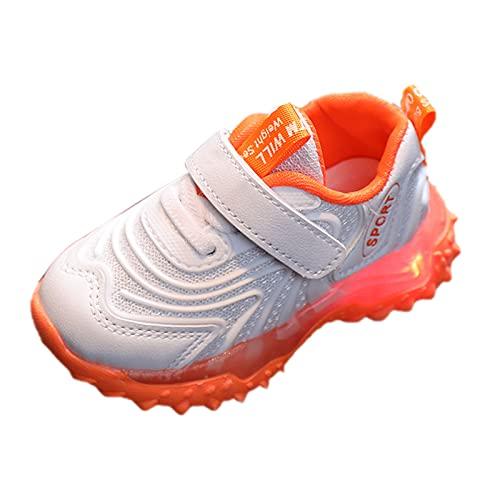 YWLINK Zapatillas De Deporte Led para NiñOs, Zapatos Brillantes, Zapatos Ligeros,Calzado Deportivo Casual,Zapatos De Escalada Al Aire Libre,Zapatillas De Correr con Suela Blanda Zapatos De Viaje