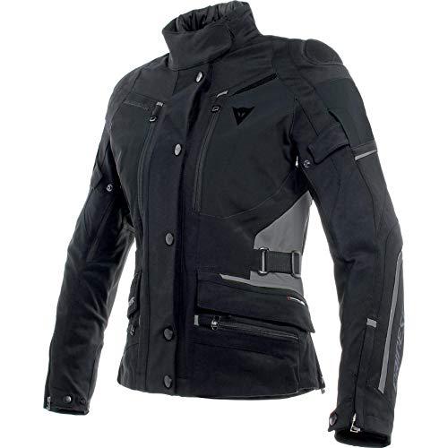 Dainese Motorradjacke mit Protektoren Motorrad Jacke Carve Master 2 GTX Damen Textiljacke schwarz 44, Tourer, Ganzjährig