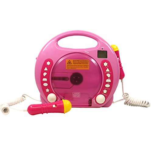 IQ Toys Anti Skip CD-USB-SD Player with 2...