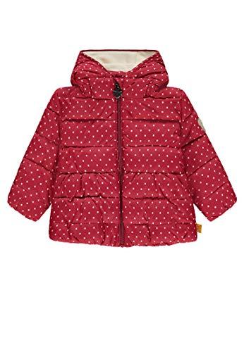 Steiff Baby-Mädchen Anorak Jacke, Rot (y/d Stripe Multicolored 0001), 80