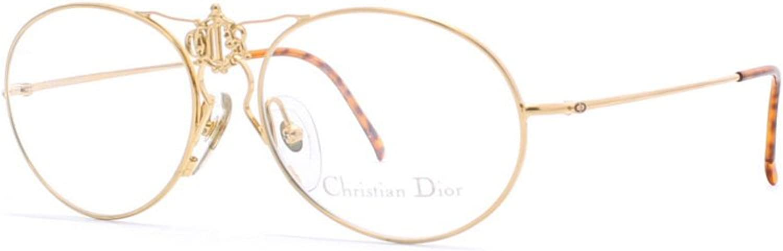 Christian Dior 2640 40 gold Authentic Women Vintage Eyeglasses Frame