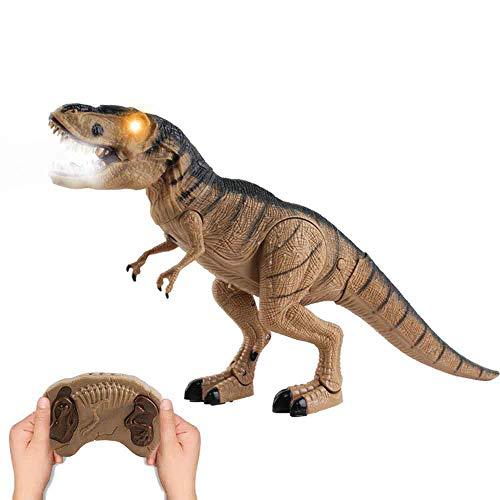 deAO RC Dinosaurio Inteligente a Radio Control Robot Teledirigido con Movimientos, Sonidos y Efecto...