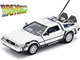Ritorno al Futuro 1 - Back To The Future I - Delorean 1:24 Die-Cast Metal Model