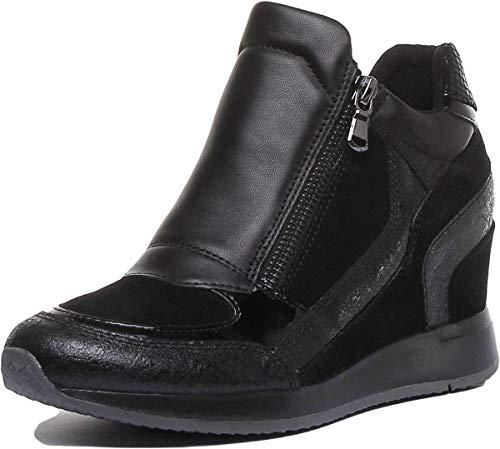 Geox Scarpa Invernale Donna Sneaker Zeppa Nydame D620QA 0VI22 C9999 40