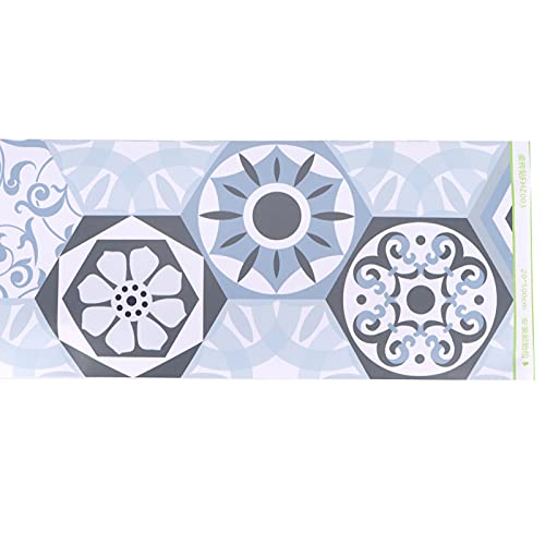 Papel tapiz Peel, 20x500cm Adhesivo para zócalo PVC Autoadhesivo tridimensional DIY Adhesivo para decoración del hogar Fácil de pegar y quitar