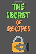 The Secret Of RECIPES: All Purpose  Recipes  6x9