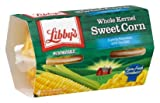 Libby's Microwavable Cups, Sweet Corn, 4 Cups Per Pack (Pack of 4) 16 Oz