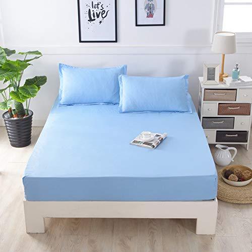 huyiming Gebruikt voor Single piece bed cover Simmons beschermhoes Bed set 1.5 single bed pad set stofkap dubbel 1.8m bed