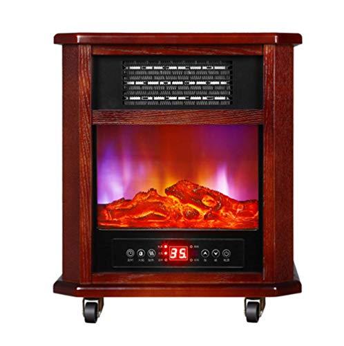 CHUXUE Elektrische open haard met verwarming haardvuur effect 2000W 3D vlammeneffect verwarming oven WiFi-bediening touchscreen