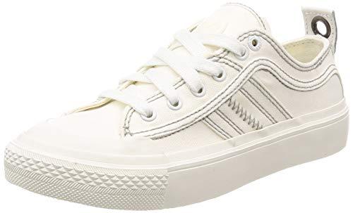 Diesel S-astico Low Lace W, Zapatillas Mujer, Blanco (Star White T1015/Pr012), 39 EU