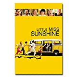 QAZEDC Dekorative Malerei Little Miss Sunshine Movie Poster