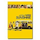 QAZEDC Dekorative Malerei Little Miss Sunshine Movie Poster