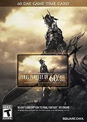 Final Fantasy XIV Online: 60 Day Time Card [Online Game Code] from Square-Enix
