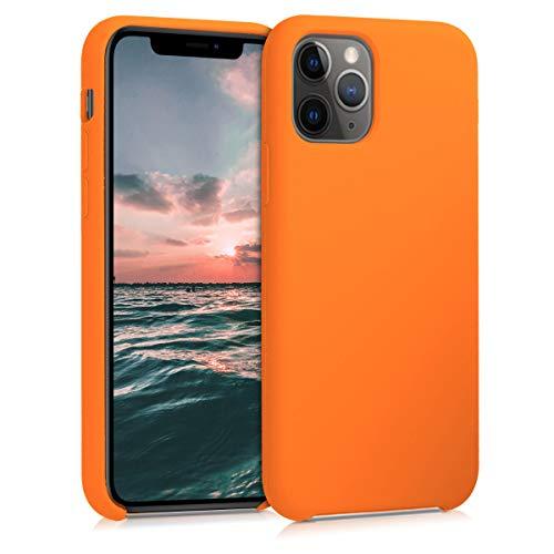 kwmobile Hülle kompatibel mit Apple iPhone 11 Pro - Handyhülle gummiert - Handy Hülle in Cosmic Orange