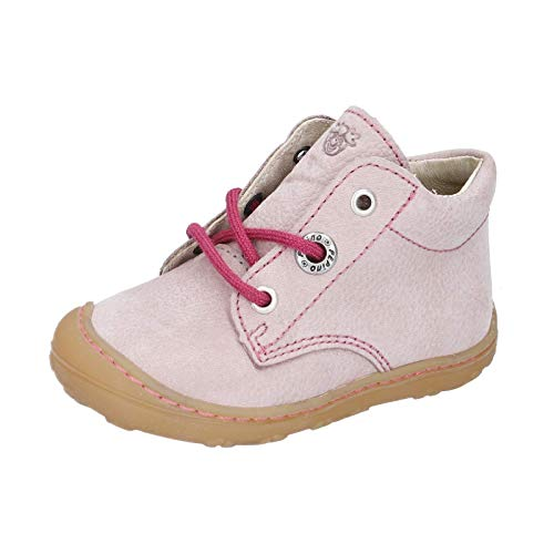 Ricosta Cory Pepino - Zapatillas de correr para niños, ancho medio (WMS), color marrón, color Morado, talla 25 EU