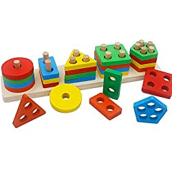 shape and color sorter puzzle