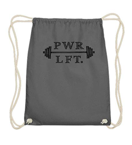 Piasana PWRLFT Powerlifting Squat Bench Deadlift im Sketch-Style T-Shirt - black print....