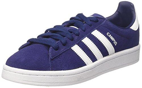 Adidas Campus J, Scarpe da Ginnastica Basse Unisex-Bambini, Blu (Dark Blue Footwear White), 37 1/3 EU