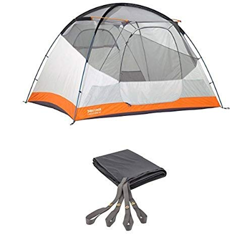 Marmot Limestone 6P Tent, Gold, Malais Gold, 6 Person with 6P footprint