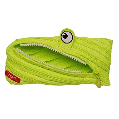 ZIPIT Monster Pencil Case, Lime