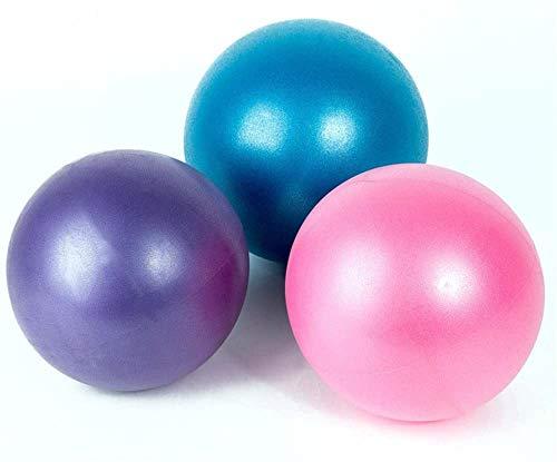 TOCYORIC Pelota de Pilates, Softball Pilates, 3 Piezas Mini Pelota de Ejercicio de 25cm, Anti-Burst Ballon Fitness, Softball Pilates para Gimnasio, Yoga, Masaje y Pilates en Casa