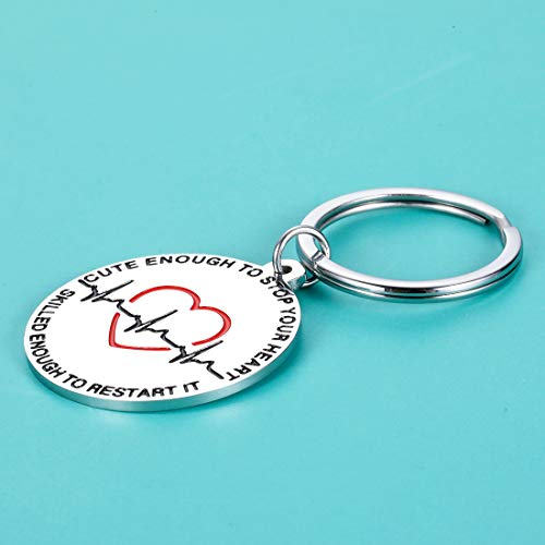 Product Image 6: Nurse Gifts Nurse Keychain for Women Graduation Nursing Student Gifts for Female Inspirational Nurses Day Gifts for Future Nurse Her Birthday Valentines Christmas Appreciation Gifts for Nurse Friend