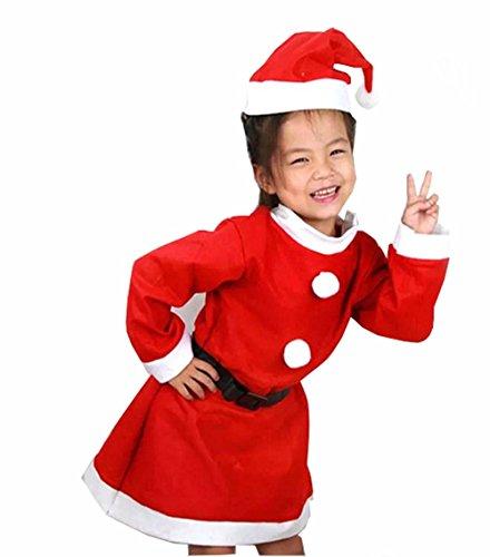 Qingsun Déguisement/Costume pour Noël/Fête/Party pour Fillette