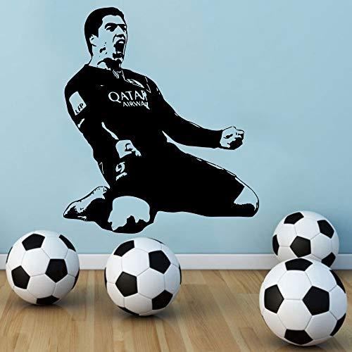 wandaufkleber 3d Luis Suarez Fc Barcelona Inneneinrichtungen Barcelona Soccer Football Sports Boys Room