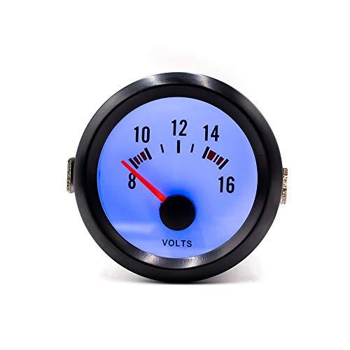 LIXUDECO Indicador de tacómetro 52mm Auto Car Turbo Boost Bar PSI tacómetro RPM Volt Agua Temp Prensa de Aceite PSI Temperatura de Aceite Indicador de Triple Sensor Gauge Pod YC100010