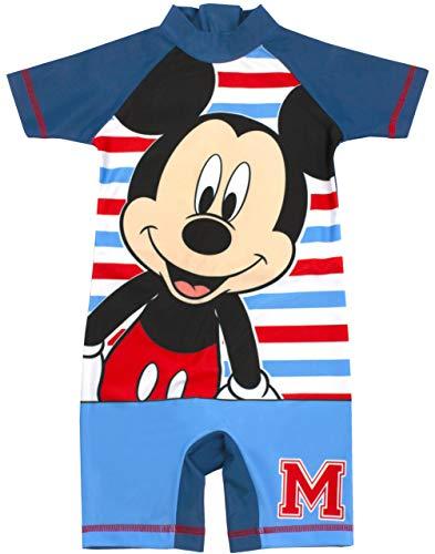 Disney Mickey Mouse Badeanzug Jungen | Sunsafe-Schwimmkostüm für Kinder