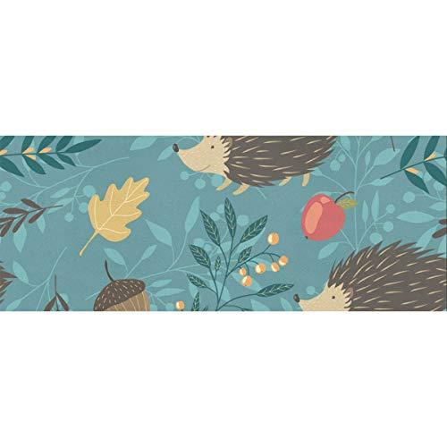 Erizo de dibujos animados infantil diseño de árbol de animales lindo papel de regalo de Navidad 58 x 23 pulgadas 2 rollos de papel de regalo Juego de papel de regalo Navidad para el día de la madre P