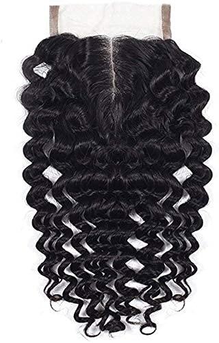 """Binilyple mèches cheveux Top Lace Closure extensions de Cheveux mèche brésilienne perruque 10"""" baby deep"""