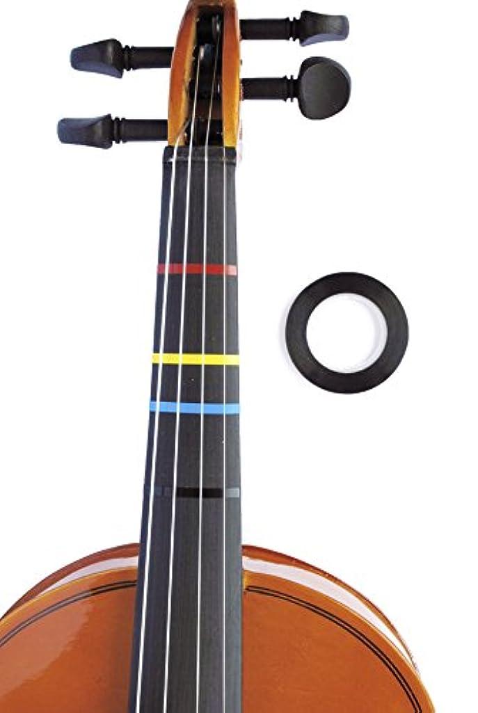 Jumbo BLACK Violin Fingering Tape for Fretboard Note Positions