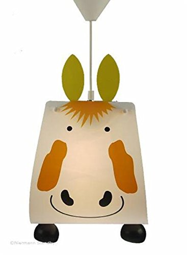 Niermann Standby 144 hanglamp paard, ca. 40 x 30 cm, 1 x E27 - max. 60 watt, Made in Germany