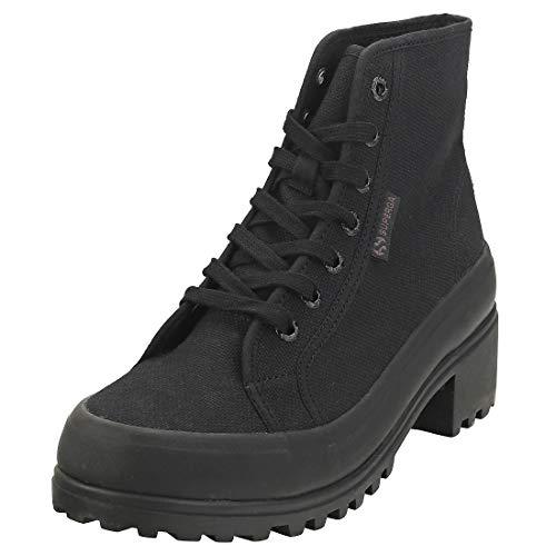 Superga Damen Stiefel 2448-COTW schwarz 36