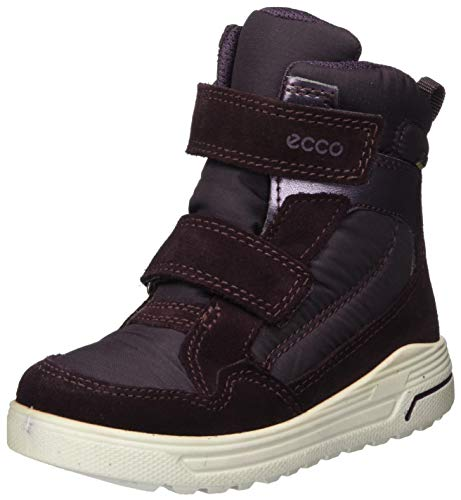 ECCO Mädchen Urban Snowboarder FigMauve Snow Boot, Purple (FIG/Mauve), 29 EU