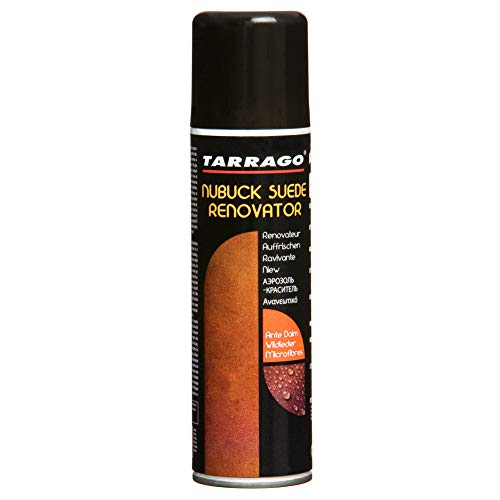 Tarrago Nubuck Suede Renovator Spray - Protects/Waterproofs Leather Shoes & Boots