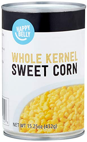 Amazon Brand - Happy Belly Whole Kernel Corn, 15 Ounce