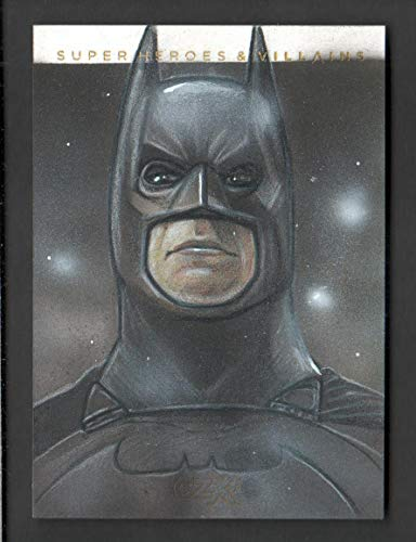 2019 CZX Super Heroes and Super-Villains Sketch Card Mohammad Jilani 1/1