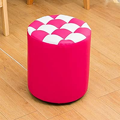 Xyydn Kreative Leder-Sofa Hocker