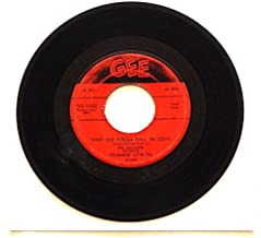 The Teenagers Featuring Frankie Lymon WHY DO FOOLS FALL IN LOVE b/w PLEASE BE MINE - Gee Records 1955 - Vinyl 7 Inch Single Record - Great Rock 'N Roll / Doo Wop single, a Fantastic HIT!