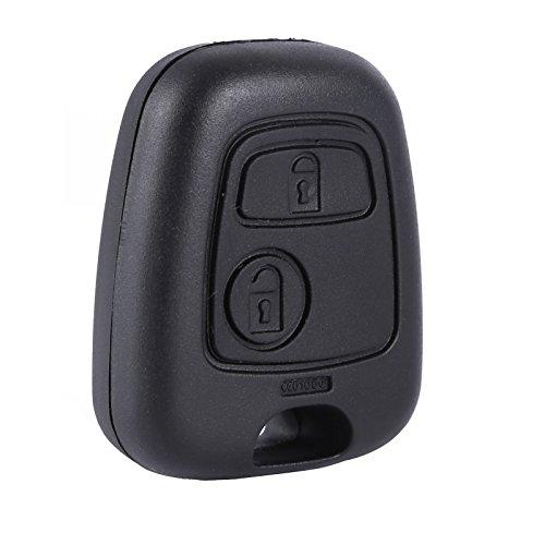 surepromsie Ersatz Schlüssel Gehäuse 2 Tasten Funkschlüssel Fernbedienung
