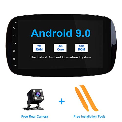 ZLTOOPAI 9 inch Android 9.0 Autoradio voor Mercedes Benz Smart Auto Stereo GPS Navigatie Auto GPS Media Player Ondersteuning Screen Mirror WiFi