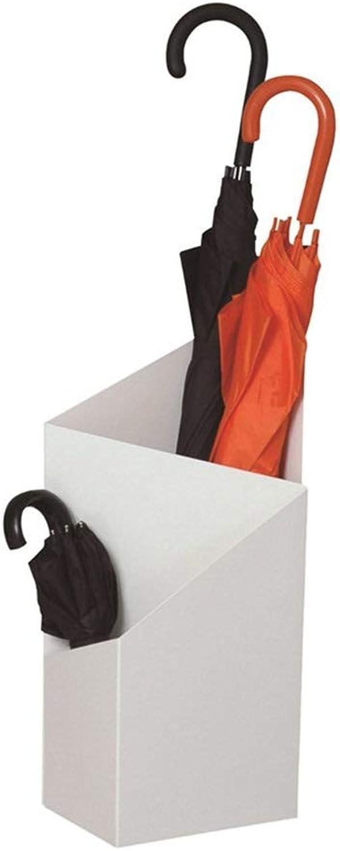 ZH1 Umbrella Stands Geometric Umbrella Stand Rack Household Storage Umbrella Stand Umbrella Bucket, White