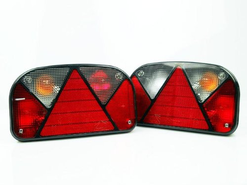 The Drive -11987- Aspöck Satz Multipoint 2 II rechts/links Rücklicht Rückleuchten