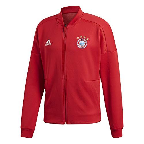 adidas Herren FC Bayern Home Anthem Jacke, FCB True red, S