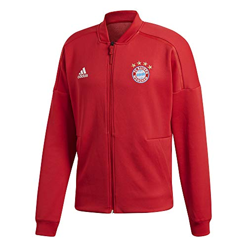 adidas Herren FC Bayern Home Anthem Jacket Jacke, FCB True red, XL