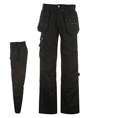 Dunlop Herren Endurance Cargo Arbeitshose Hose Mit Taschen Arbeitskleidung Schwarz Small